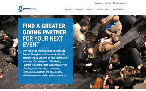 Greater Giving Partner Program | Refer and Earn - Greater Giving
