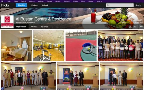Screenshot of Flickr Page flickr.com - Flickr: Al Bustan Centre & Residence's Photostream - captured Oct. 23, 2014