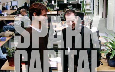 Screenshot of Home Page sparkcapital.com - Spark Capital - Dedicated to revolutionary new businesses - captured Jan. 5, 2016