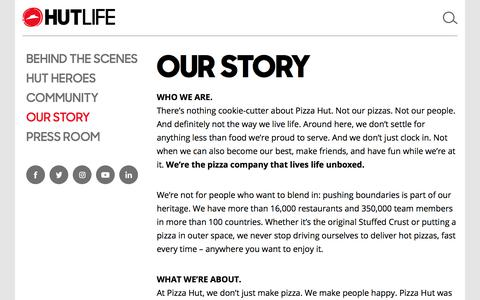 Our Story – Hut Life – Official Pizza Hut Blog