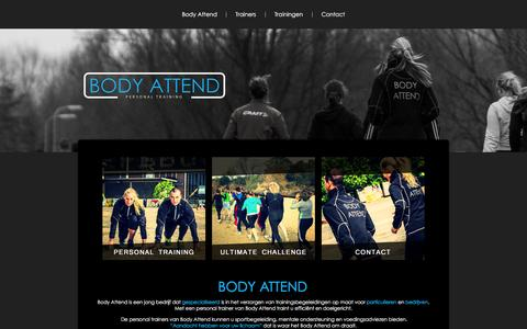 Screenshot of Home Page body-attend.nl - Body Attend - captured Feb. 7, 2016