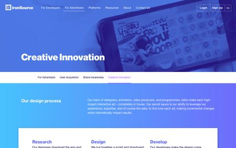 ironSource - interactive ad units