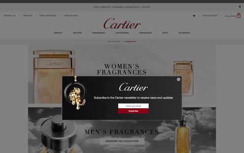 Cartier Fragrance Collections: Luxury perfumes for Men and Women by Cartier