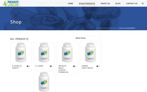 Sexual Enhancement Archives - Private Label Supplements and Vitamins