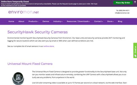 SecurityHawk Security Cameras - Enviromon