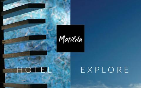Screenshot of Home Page hotelmatilda.com - Hotel Matilda | Spa, Hotel and Restaurant : San Miguel de Allende - captured July 23, 2018