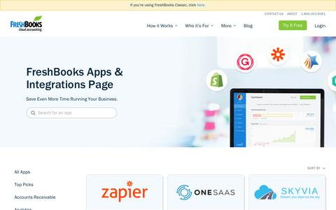 Connector Tools Integrations for New FreshBooks | FreshBooks