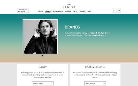 Brands | Kering