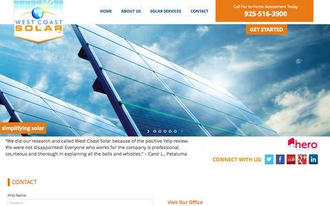 CONTACT | West Coast Solar