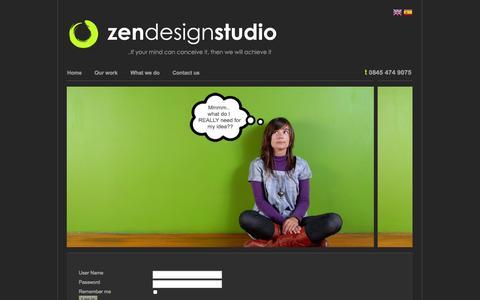 Screenshot of Privacy Page zendesignstudio.com - Zen Design Studio - A creative digital design and marketing agency - Zen Design Studio - A creative digital design and marketing agency - captured Oct. 9, 2014
