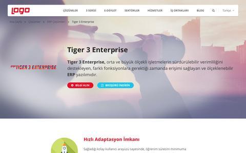 Tiger 3 Enterprise|ERP Çözümleri