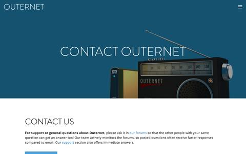 Medium traffic Media Contact Pages | Website Inspiration and