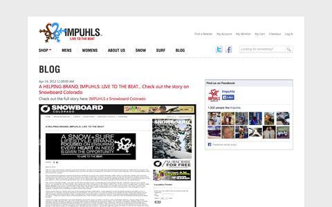 Screenshot of Blog impuhls.com - Blog - captured Sept. 30, 2014