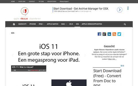 iOS Archieven | Apple Nieuws Vlaanderen