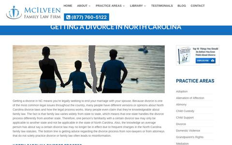 Filing For Divorce in NC | McIlveen Family Law Firm