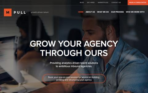 Growing your agency through ours | MPULL