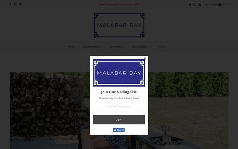 Screenshot of About Page malabarbay.com - About Malabar Bay – Malabar Bay Retail - captured July 8, 2018