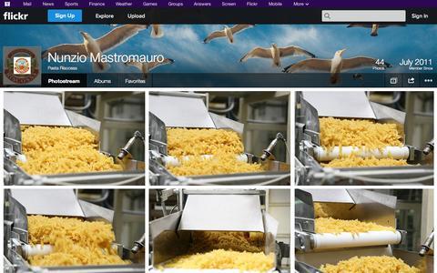 Screenshot of Flickr Page flickr.com - Flickr: Pasta Riscossa's Photostream - captured Oct. 22, 2014