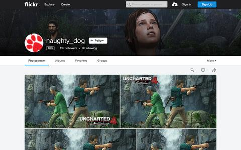 Screenshot of Flickr Page flickr.com - naughty_dog | Flickr - Photo Sharing! - captured Nov. 23, 2015