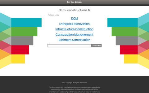dcm-constructions.fr