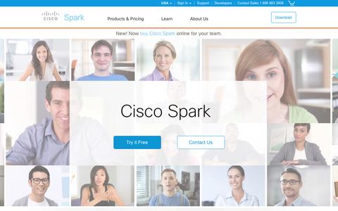 Cisco Spark. One service. All your team communications.