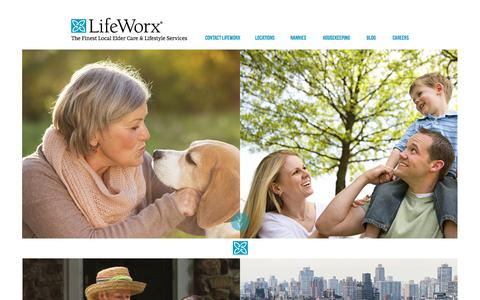 Screenshot of Locations Page lifeworx.com - Home - captured July 6, 2016