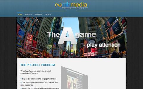Screenshot of Press Page ntbmedia.com - ntbmedia - captured Sept. 16, 2014