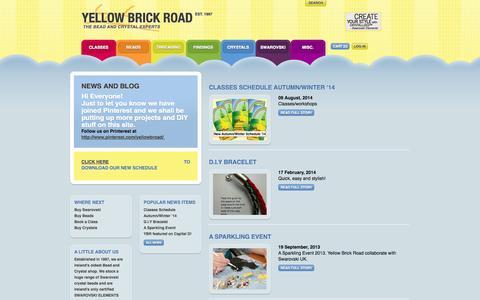 Screenshot of Press Page yellowbrickroad.ie - News — Yellow Brick Road - captured Oct. 4, 2014