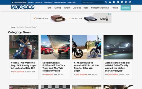 Latest Cars & Bike News in India - Motoroids