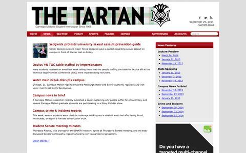 News - The Tartan Online