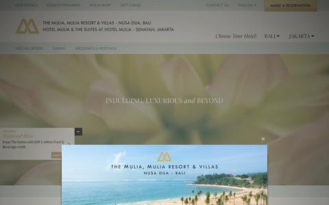Screenshot of Privacy Page themulia.com - Hotel Jakarta Indonesia | Resorts in Nusa Dua - captured Jan. 29, 2016
