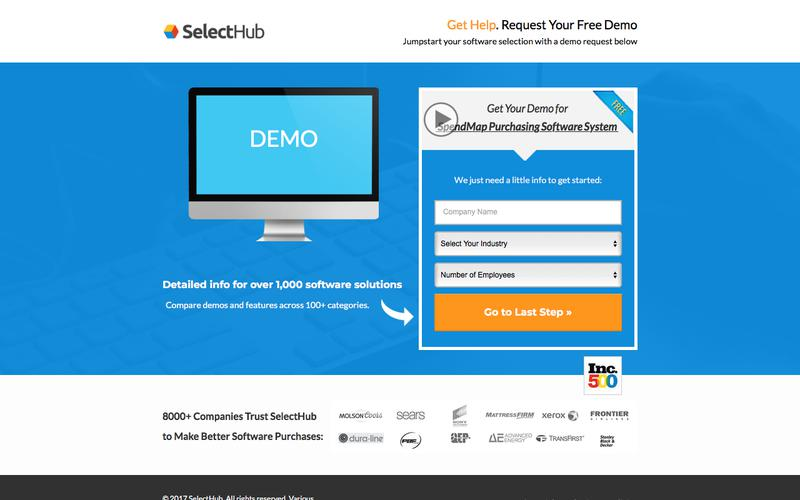 Get Demo Information for SpendMap Purchasing Software System