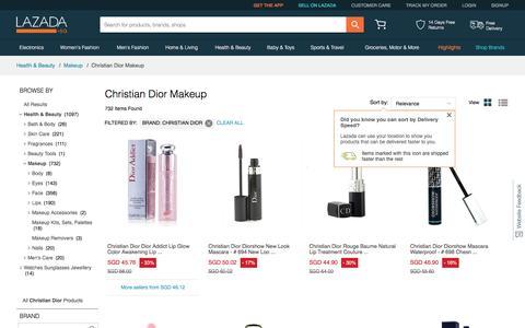 Dior Singapore - Shop Online For Dior Makeup At Best Price I Lazada