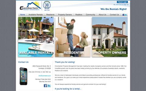 Home | Chamberlain Property Management