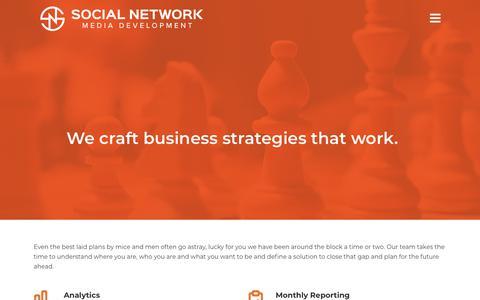 Screenshot of Team Page socialnetworkmd.com - Management & Analytics - Social Network MD - captured Sept. 21, 2018