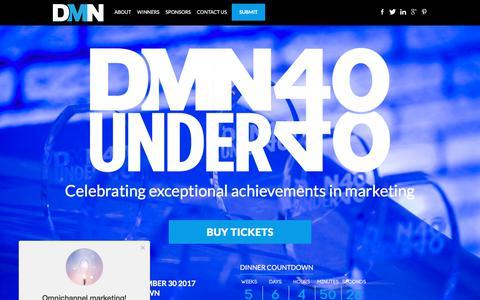 DMN 40 Under 40