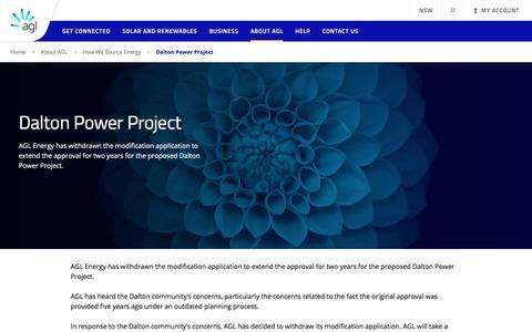 Dalton Power Project | AGL