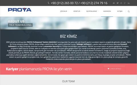 Screenshot of About Page proya.com.tr - About Us | PROYA - captured Oct. 27, 2014