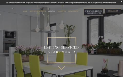 Screenshot of About Page lettingservicedapartments.co.uk - Private rental properties across Watford - captured July 18, 2018