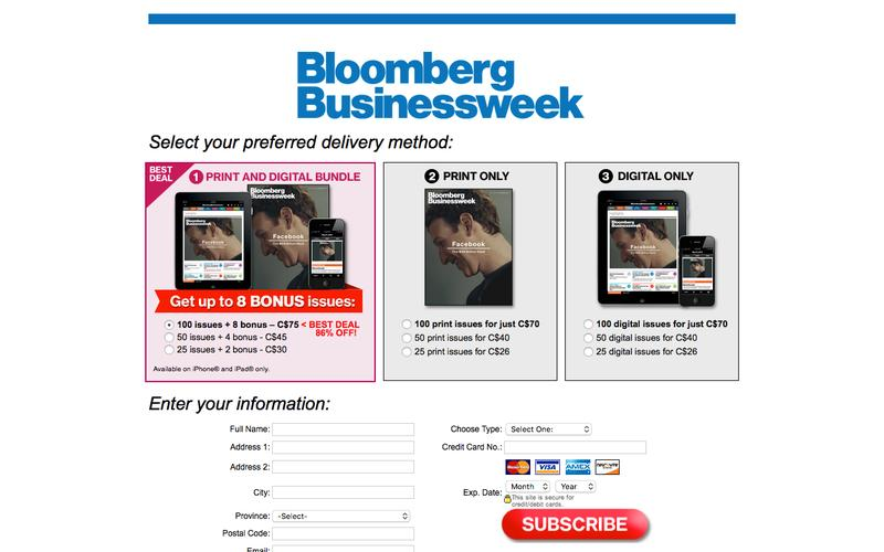 Bloomberg Businessweek | Subscribe and  get up to 8 BONUS issues!