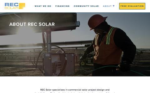 About REC Solar | REC Solar