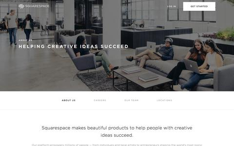 About Us — Squarespace