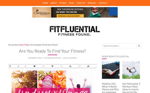 Find YOUR Fitness With This Free Fitness Guide [Download]
