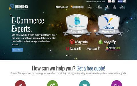 Web Design and Developement | Border7 Studios LLC