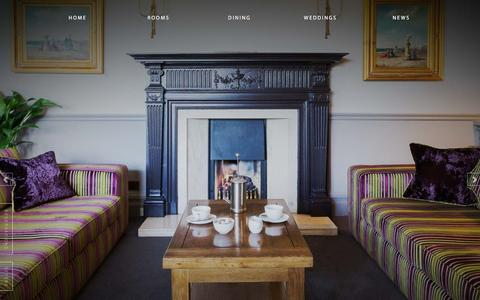Screenshot of Home Page ryebeck.com - The Ryebeck Hotel & Restaurant | Bowness-on-Windermere - captured March 4, 2016