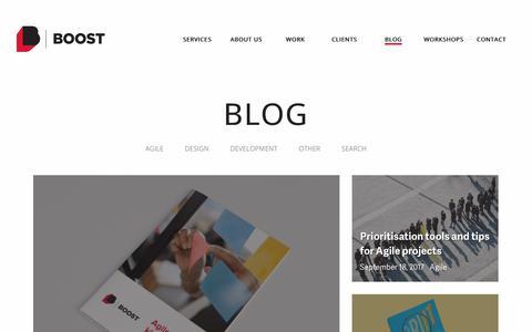 Screenshot of Blog boost.co.nz - Home | Boost Blog - captured Oct. 10, 2017