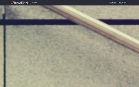Screenshot of Home Page frameinn.com - FrameInn | Connecting Modelling Industry Online - frameinn.com - captured Sept. 26, 2014
