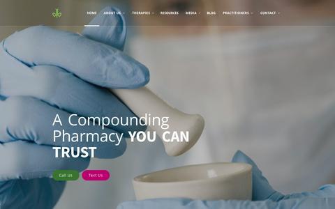 Screenshot of Home Page amexpharmacy.com - AMEX PHARMACY - captured July 25, 2016
