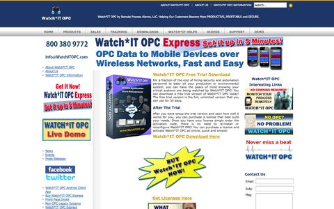 Screenshot of Trial Page watchitopc.com - Watch*IT Trial Download - captured Oct. 26, 2014