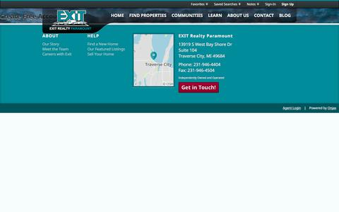 Screenshot of Signup Page Login Page tcexit.com - Signup - captured Sept. 26, 2018